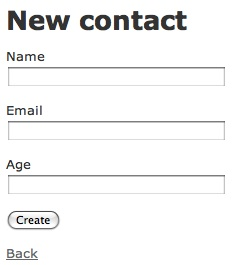 New Contact Form